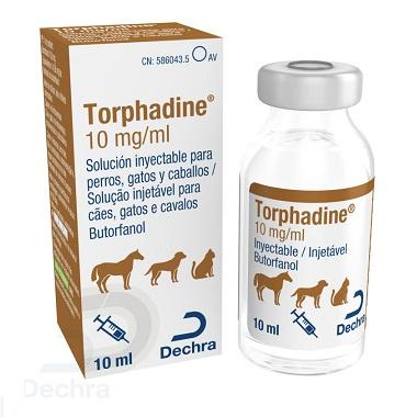 NUEVO LANZAMIENTO DE DECHRA - TORPHADINE 10 mg /ml